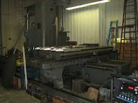 LARGE horizontal milling machine