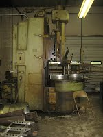 Large Vertical Lathe