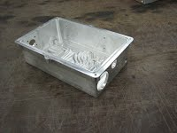 finished aluminum box
